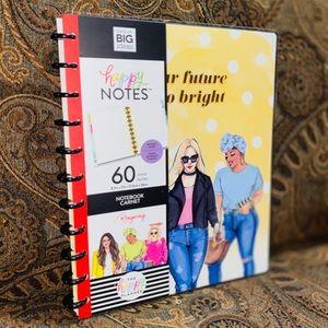Yellow Bright Future Rongrong Big Notebook